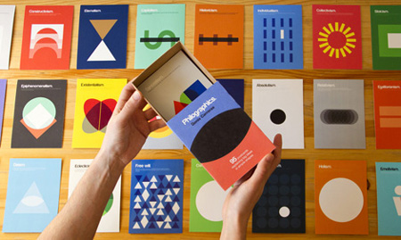 Philographics: The Book and Postcard Box