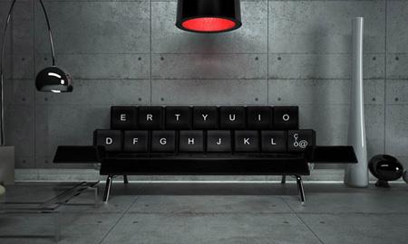QWERTY sofa