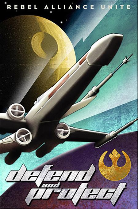 Soviet propaganda-inspired Star Wars posters