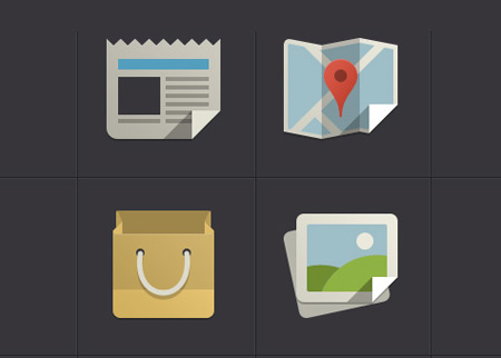 10 awesome flat icons sets