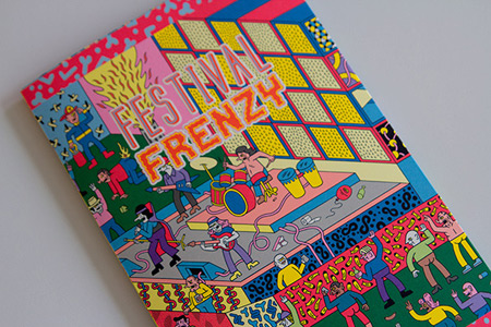Festival Frenzy illustration by Kyle Platts