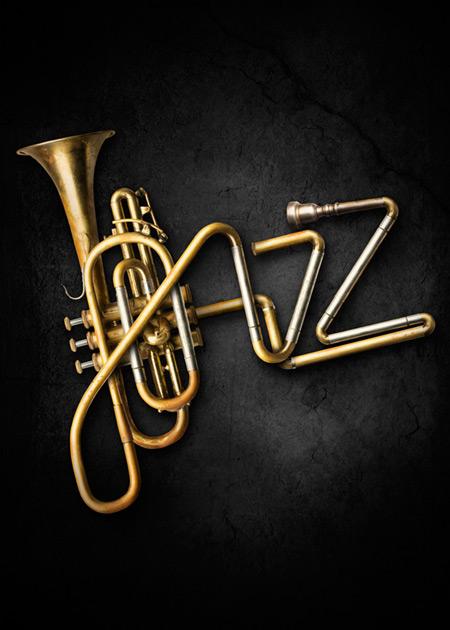 Jazzfest poster by Christoffer Meyer
