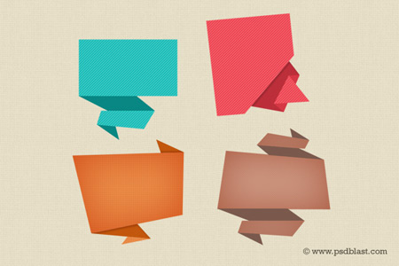 Abstract-Origami-Speech-Bubble1