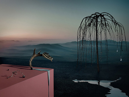 Surrealist photography by Kila and Rusharc