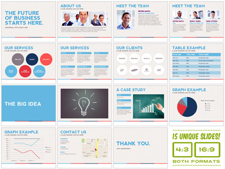 professional looking powerpoint templates - design deals for the week