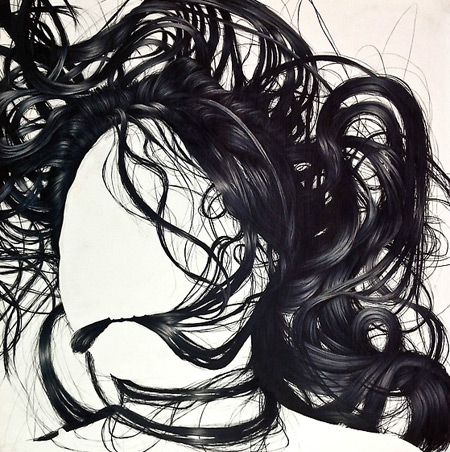 Hair studies by Brittany Schall