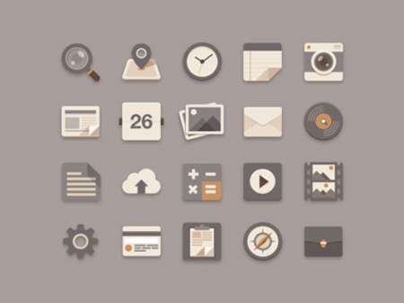 flat_icons_brownie_theme_1x