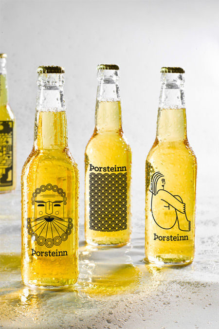Beer design by Iceland Academy of the Arts