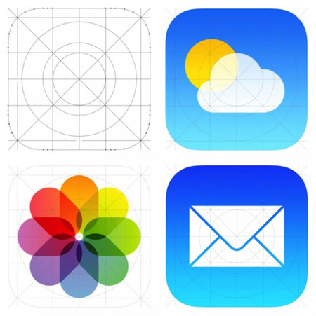 Apple adopts flat design for iOS7