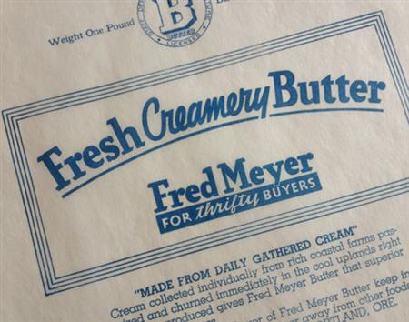 Vintage butter labels