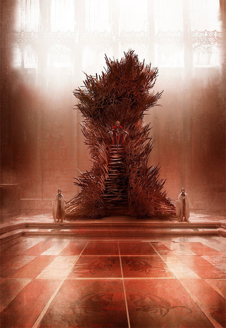 What the iron throne should have looked like