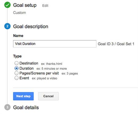 Duration-Goal-Google-Analytics