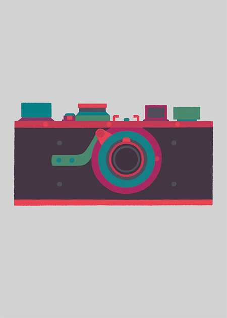 Classic cameras prints by Adrian Johnson