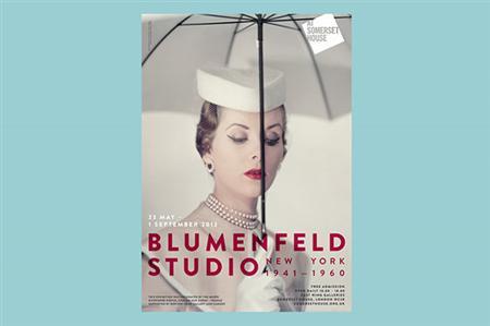 Elegant identity for Erwin Blumenfeld show