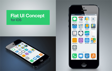 UI concepts for iOS7