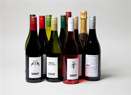 Wine labels by &Smith