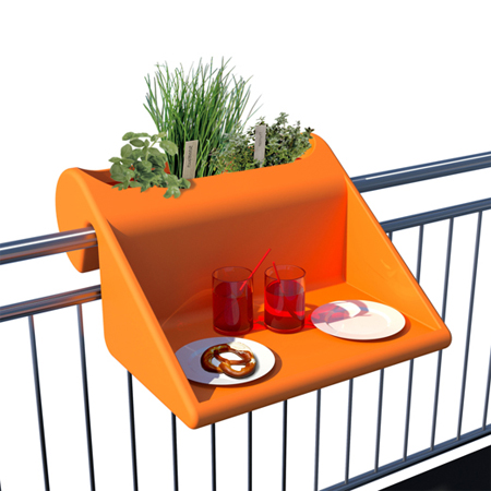 Cool balcony table