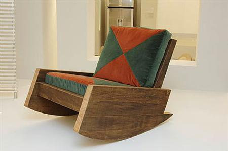 Reclaimed-Wood Furniture by Carlos Motta