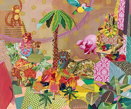 Paintings by Celeste Rapone
