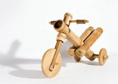 Bamboo tricycle