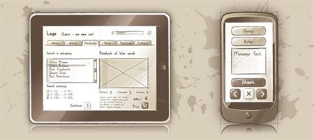 10 UI kits for quicker wireframing
