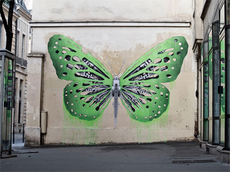 Street art by Ludo