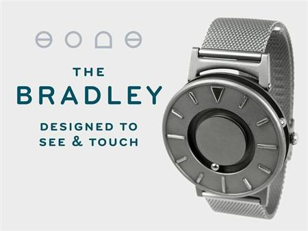 The Bradley: the first tactile watch