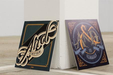 Typography by Martin Schmetzer