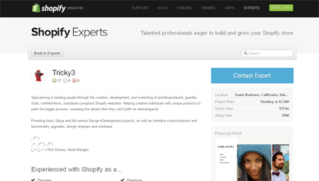 Interview with Shopify expert Tricky3
