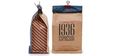 Fernwood Coffee packaging