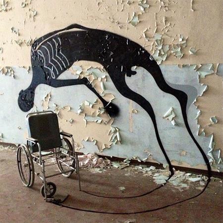 Haunting art by Herbert Baglione