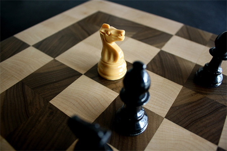 Alternate chess boards by Jim Sutherland