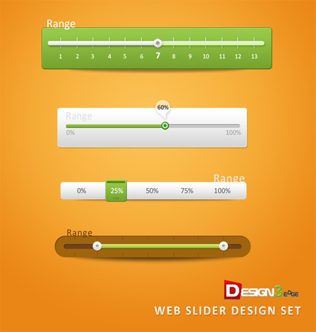 Web-Slider-Design-Set