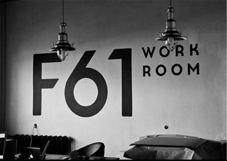 F61 Work Room Branding