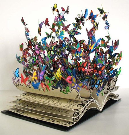 Book of Life sculpture