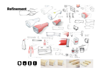 fire extinguisher design concept