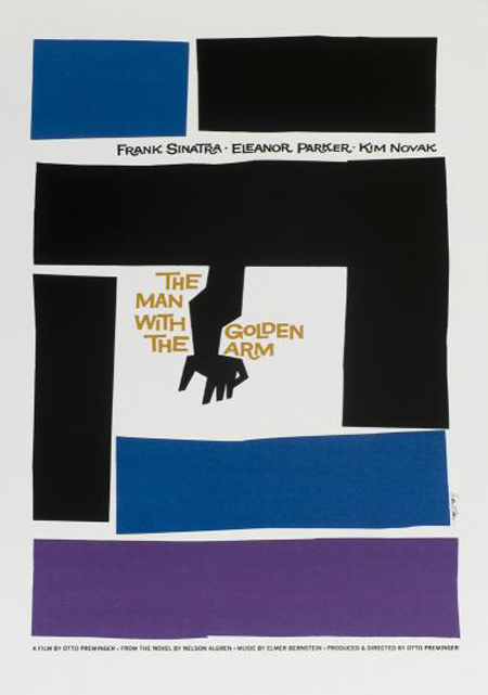 Every movie poster that Saul Bass ever made