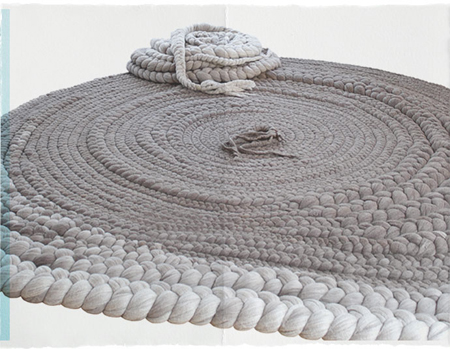 8 furnitures to add some hand-knitting to your interior design
