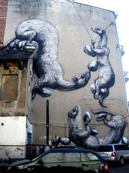 Beautiful Examples of Street Art Art + Graphics