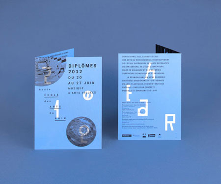Graphic design by French studio A