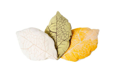 Leaf vein pillows