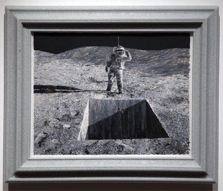 On the moon with Daniel Arsham