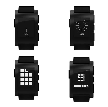 Pebble watch design
