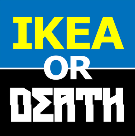 IKEA product or death metal band?