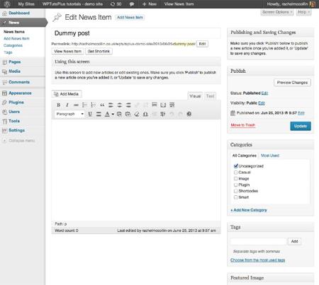 customizing-the-wordpress-a