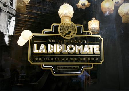 La Diplomate branding