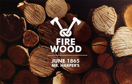 Firewood vodka packaging concept