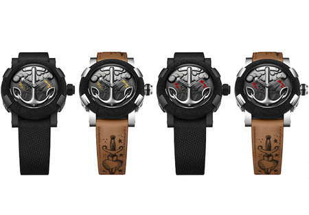 Tattoo-DNA watch collection