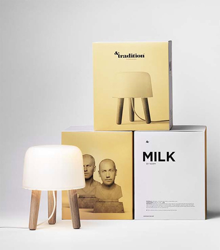 Minimalist package designs