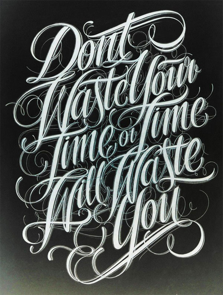 Lettering by Mateus Witczak